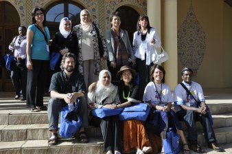 With iEARN friends during the Morocco Conference in 2009