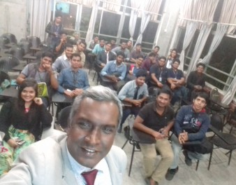 MAT147-Evening Fall-2017 students at IUBAT