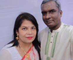 Us on the Bengali New Year 1425